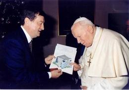 Immagine Di prima mattina Agata Smeralda a casa del Papa